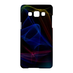 Lines Rays Background Light Pattern Samsung Galaxy A5 Hardshell Case