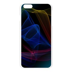 Lines Rays Background Light Pattern Apple Seamless iPhone 6 Plus/6S Plus Case (Transparent)