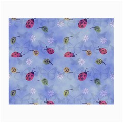 Ladybug Blue Nature Small Glasses Cloth (2-Side)