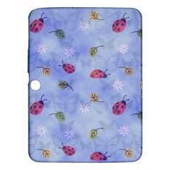 Ladybug Blue Nature Samsung Galaxy Tab 3 (10.1 ) P5200 Hardshell Case