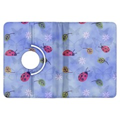 Ladybug Blue Nature Kindle Fire HDX Flip 360 Case