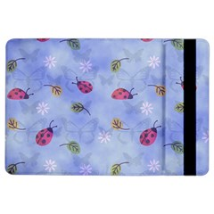 Ladybug Blue Nature Ipad Air 2 Flip