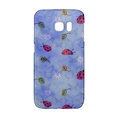 Ladybug Blue Nature Galaxy S6 Edge