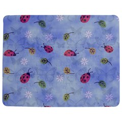 Ladybug Blue Nature Jigsaw Puzzle Photo Stand (rectangular)