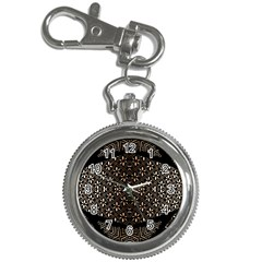 Art Background Fabric Key Chain Watches