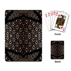 Art Background Fabric Playing Card