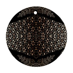 Art Background Fabric Round Ornament (Two Sides)