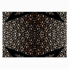 Art Background Fabric Large Glasses Cloth (2-Side)