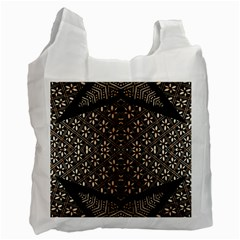 Art Background Fabric Recycle Bag (One Side)