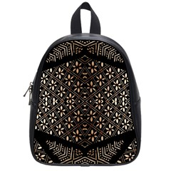 Art Background Fabric School Bags (Small)