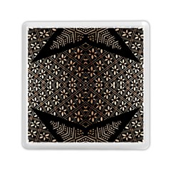 Art Background Fabric Memory Card Reader (Square)