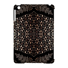 Art Background Fabric Apple iPad Mini Hardshell Case (Compatible with Smart Cover)