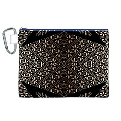 Art Background Fabric Canvas Cosmetic Bag (XL)