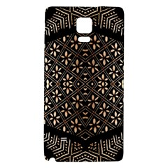Art Background Fabric Galaxy Note 4 Back Case