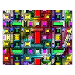 Art Rectangles Abstract Modern Art Rectangular Jigsaw Puzzl