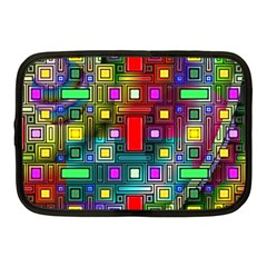 Art Rectangles Abstract Modern Art Netbook Case (Medium)