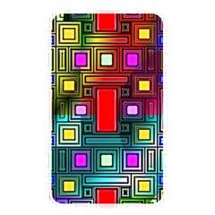 Art Rectangles Abstract Modern Art Memory Card Reader