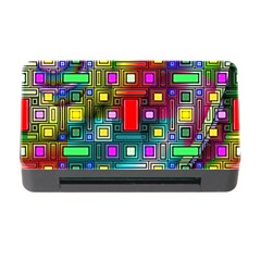 Art Rectangles Abstract Modern Art Memory Card Reader with CF
