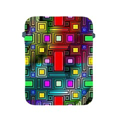 Art Rectangles Abstract Modern Art Apple Ipad 2/3/4 Protective Soft Cases