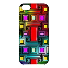 Art Rectangles Abstract Modern Art Apple iPhone 5C Hardshell Case
