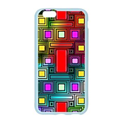 Art Rectangles Abstract Modern Art Apple Seamless iPhone 6/6S Case (Color)
