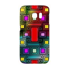 Art Rectangles Abstract Modern Art Galaxy S6 Edge