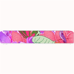 Abstract Flowers Digital Art Small Bar Mats