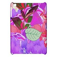 Abstract Flowers Digital Art Apple iPad Mini Hardshell Case