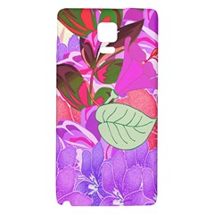 Abstract Flowers Digital Art Galaxy Note 4 Back Case