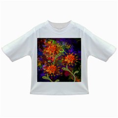 Abstract Flowers Floral Decorative Infant/Toddler T-Shirts