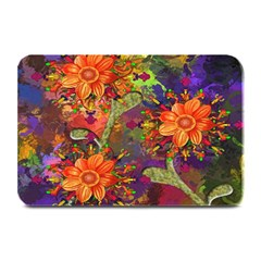 Abstract Flowers Floral Decorative Plate Mats