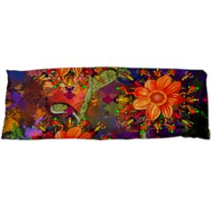 Abstract Flowers Floral Decorative Body Pillow Case (Dakimakura)