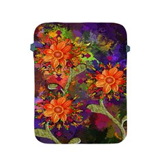 Abstract Flowers Floral Decorative Apple Ipad 2/3/4 Protective Soft Cases