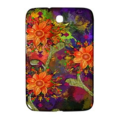 Abstract Flowers Floral Decorative Samsung Galaxy Note 8.0 N5100 Hardshell Case