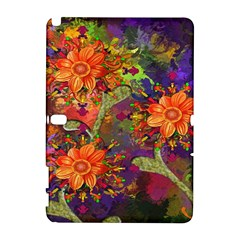 Abstract Flowers Floral Decorative Galaxy Note 1