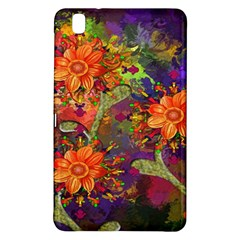 Abstract Flowers Floral Decorative Samsung Galaxy Tab Pro 8 4 Hardshell Case