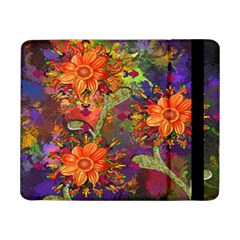 Abstract Flowers Floral Decorative Samsung Galaxy Tab Pro 8.4  Flip Case