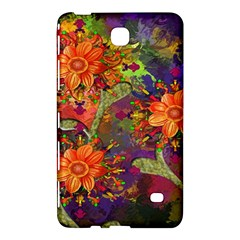 Abstract Flowers Floral Decorative Samsung Galaxy Tab 4 (7 ) Hardshell Case