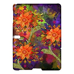 Abstract Flowers Floral Decorative Samsung Galaxy Tab S (10.5 ) Hardshell Case