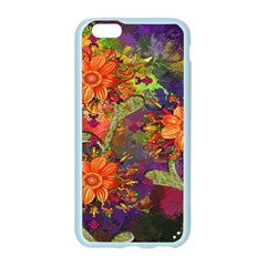 Abstract Flowers Floral Decorative Apple Seamless iPhone 6/6S Case (Color)