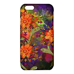 Abstract Flowers Floral Decorative iPhone 6/6S TPU Case