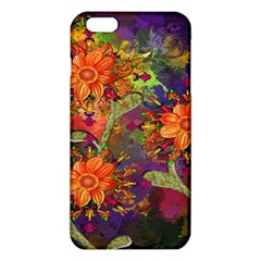 Abstract Flowers Floral Decorative Iphone 6 Plus/6s Plus Tpu Case