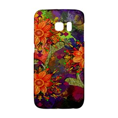 Abstract Flowers Floral Decorative Galaxy S6 Edge