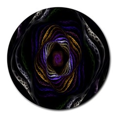 Abstract Fractal Art Round Mousepads