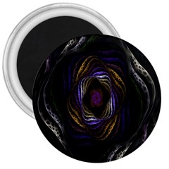 Abstract Fractal Art 3  Magnets