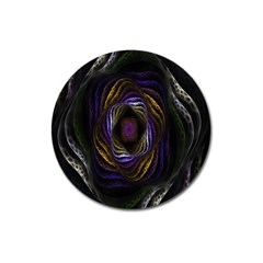 Abstract Fractal Art Magnet 3  (Round)