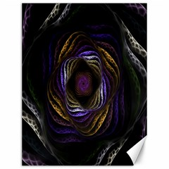 Abstract Fractal Art Canvas 12  x 16