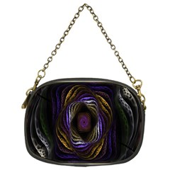 Abstract Fractal Art Chain Purses (One Side)