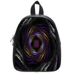 Abstract Fractal Art School Bags (Small)
