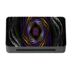 Abstract Fractal Art Memory Card Reader with CF